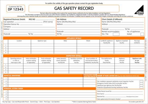landlord gas safety certificate Christchurch